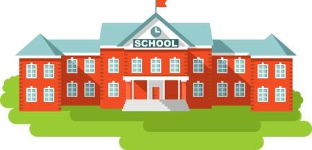 23,815 School Building Stock Illustrations, Cliparts And Royalty.