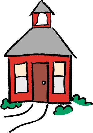 School House Clipart.