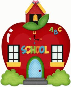 Clipart Of Blank School House.