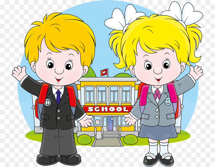 School Children Vector PNG School Student Clipart download.