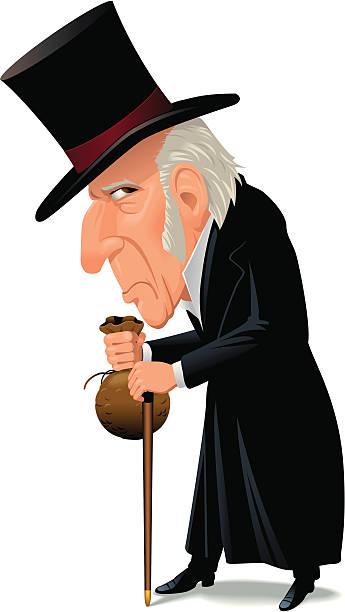 Best Scrooge Illustrations, Royalty.