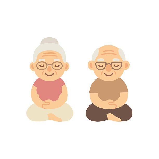 Collection of 14 free Breathe clipart senior yoga bill clipart.