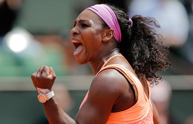 Clipart Of Serena Williams.