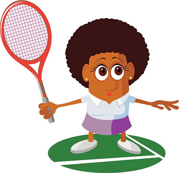 Serena Williams Clip Art, Vector Images & Illustrations.