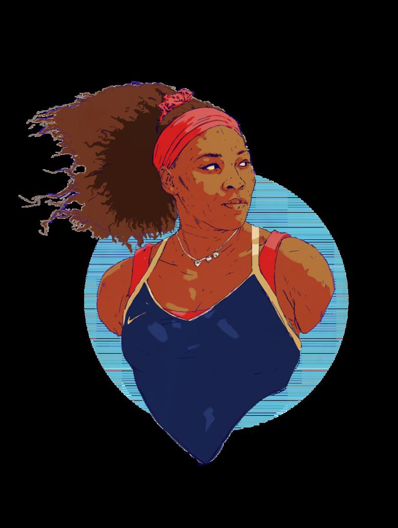 Serena Williams by wiremu on DeviantArt.
