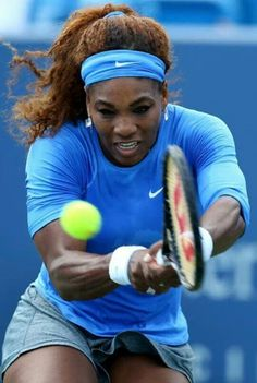 The defending champion & legendary Serena Williams at the pre.