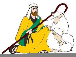 Clipart Of Shepherds And Sheep.