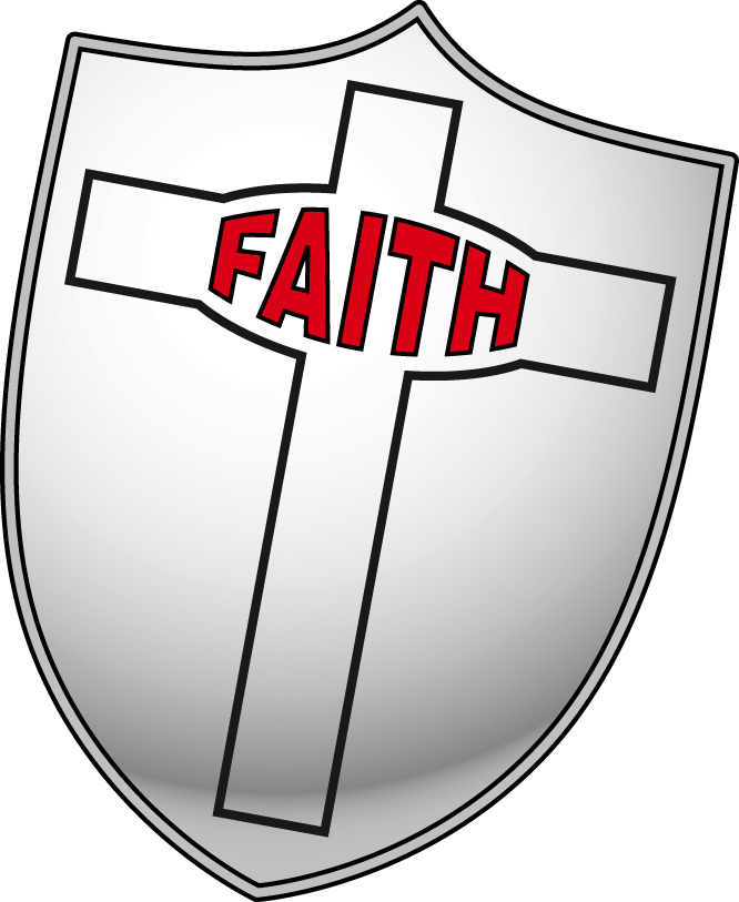 Shield of faith clipart.