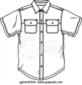 Clip Art Of Shirt.