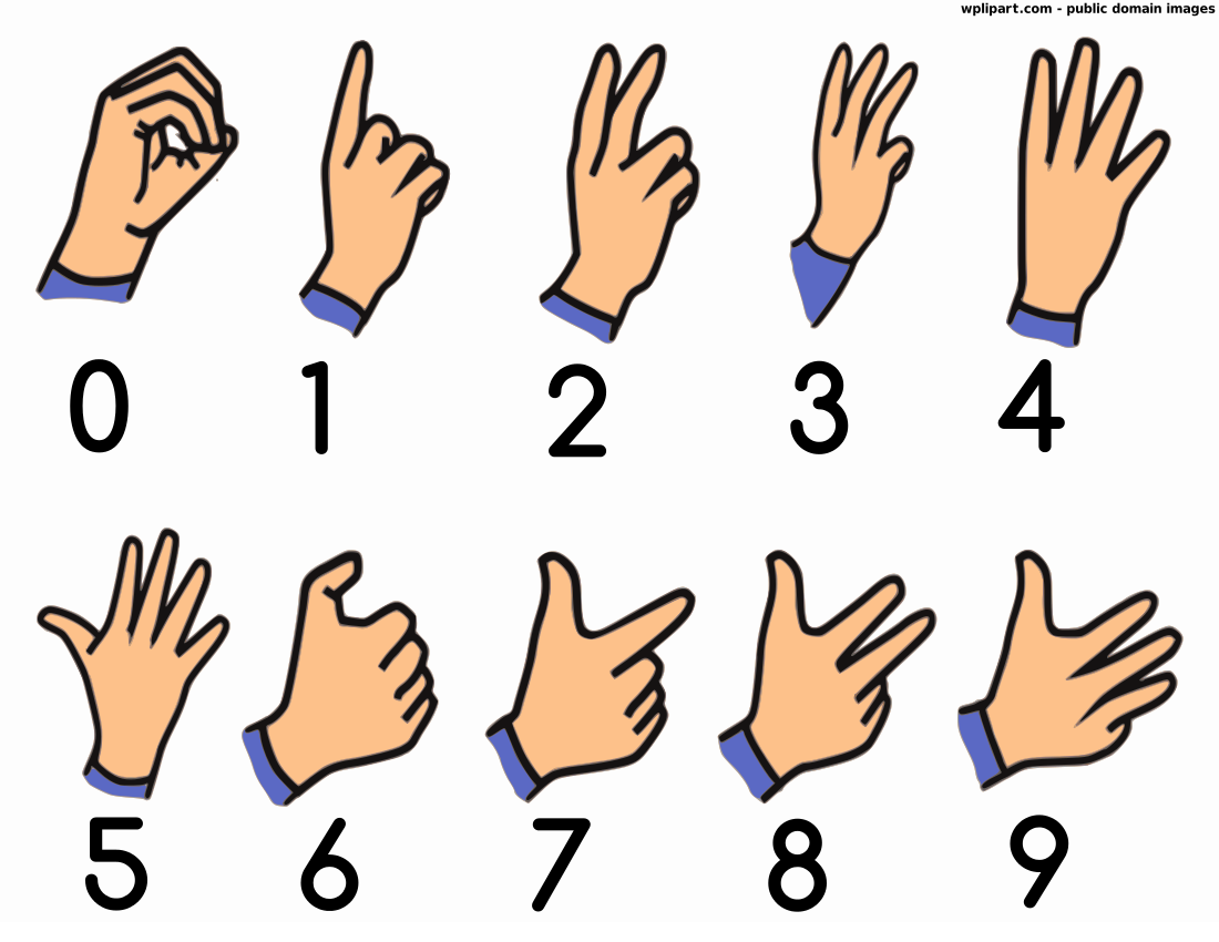 Clipart Sign Language.