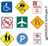 Signs Clip Art.
