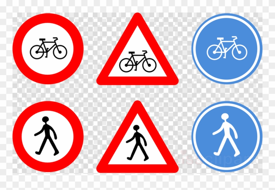 Traffic Signals Clipart Bicycle Signs Traffic Sign.