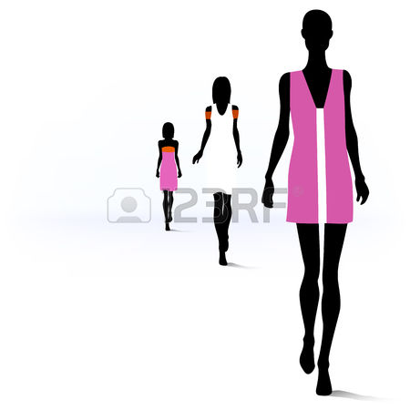11148 Fashion Show Cliparts Stock Vector And Royalty Free