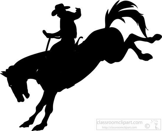 Download Free png rodeo clipart silhouettes cli.