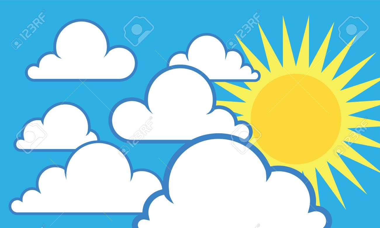 Daytime Sky Clipart.