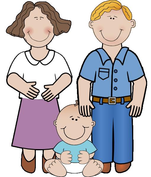 Family Unit Clip Art at Clker.com.