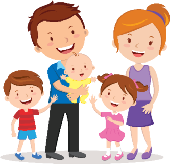 Small Family Clipart Free.