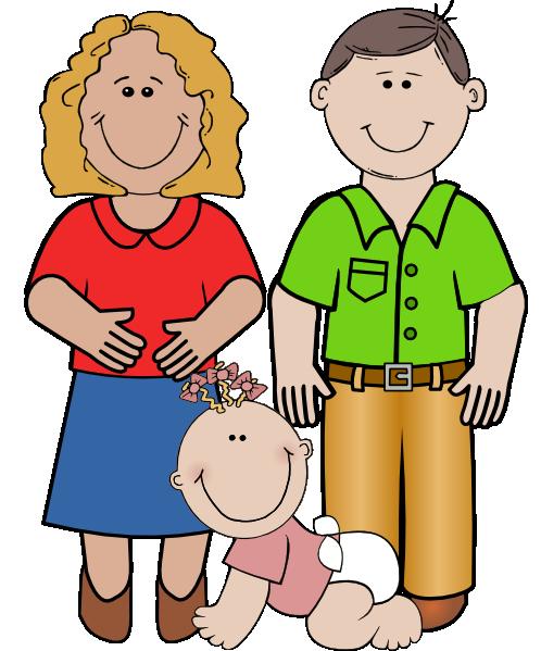 Smiling Family Clip Art at Clker.com.