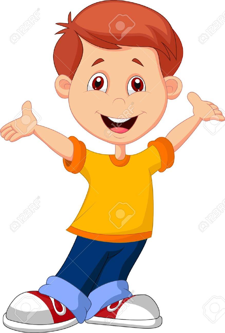 Cute Boy Cartoon Royalty Free Cliparts, Vectors, And Stock.