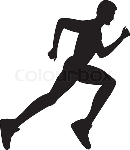 Free to use and share person running clipart for your project.