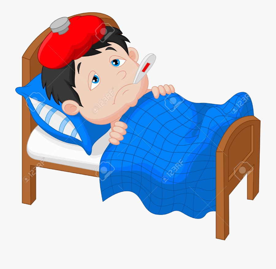 Sick Person Clipart Cartoon Transparent Png , Free.