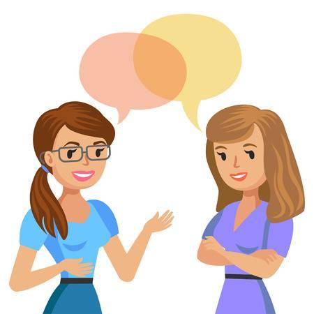 Two person talking clipart » Clipart Portal.
