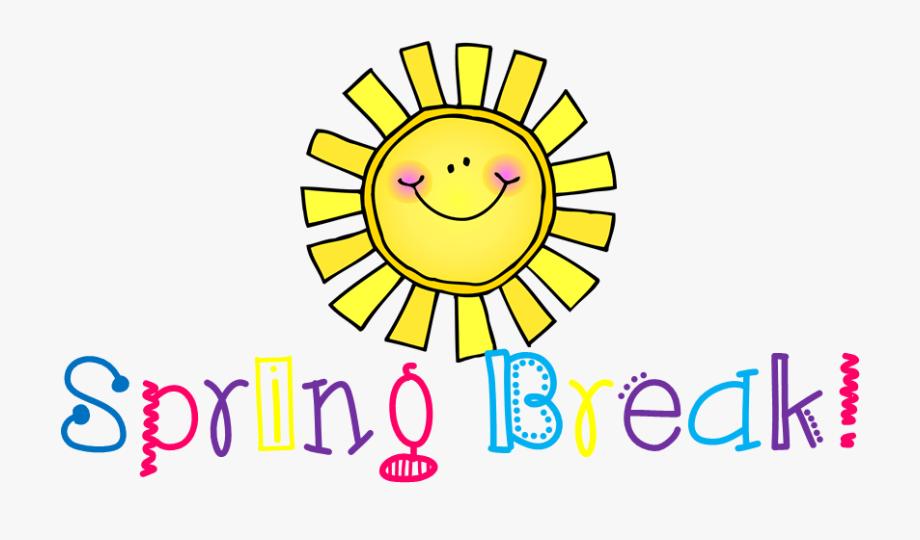 School Spring Break Clipart.