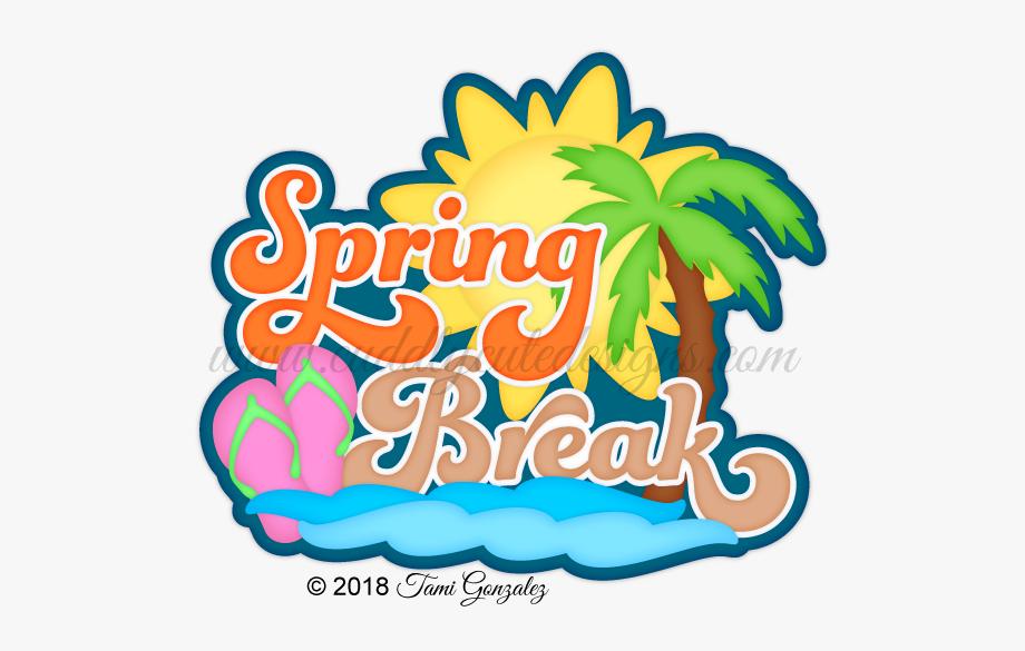 Spring Break Clipart Cute.