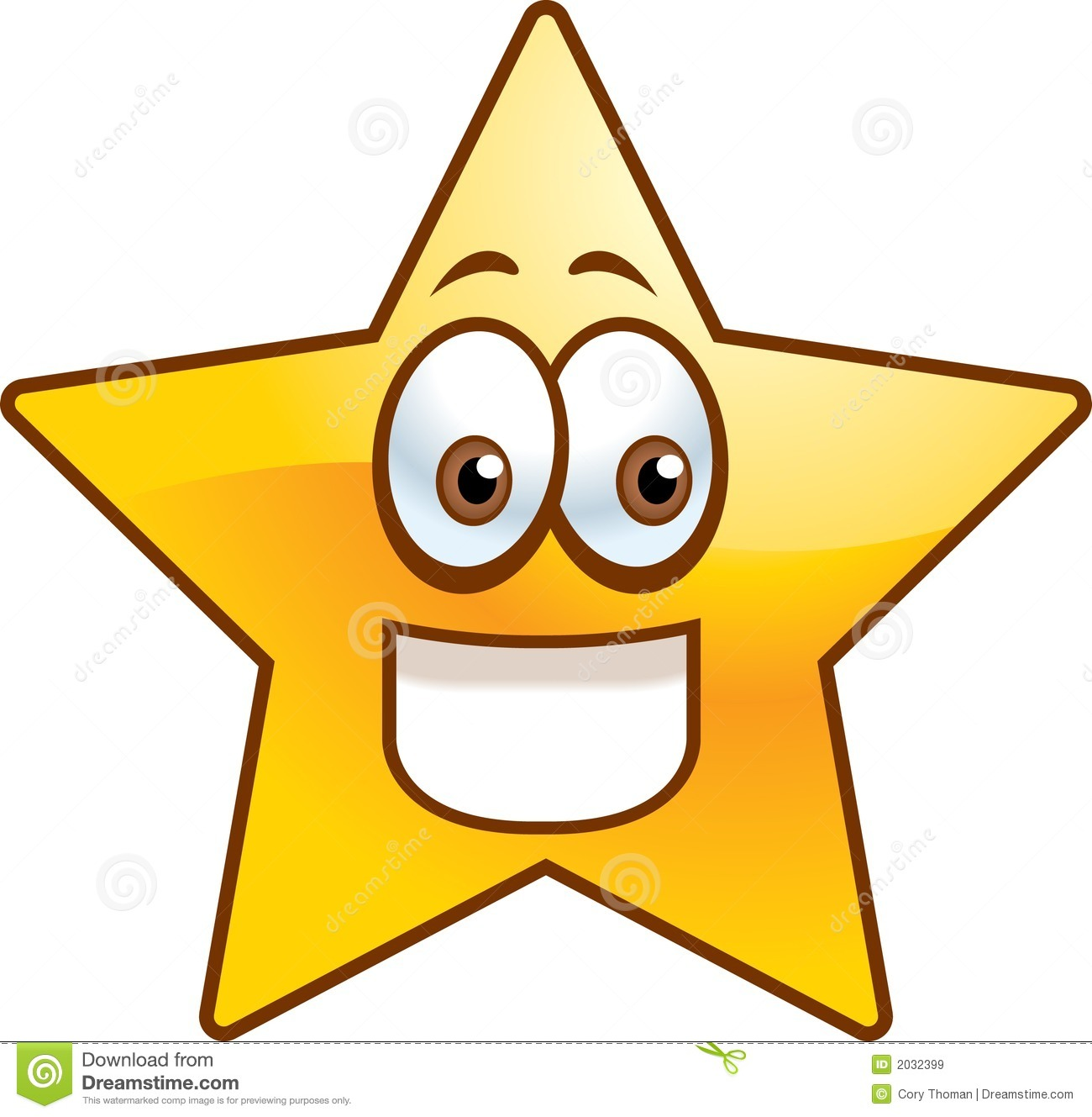 Star Shapes Clipart Free.