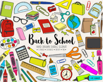 School stationery clipart 7 » Clipart Station.