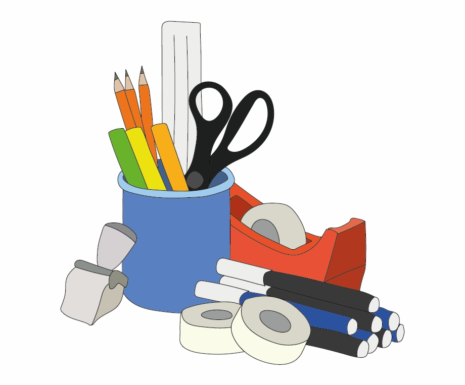 Stationery Office Supplies Clipart Png.