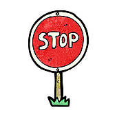 clipart of stop sign #15