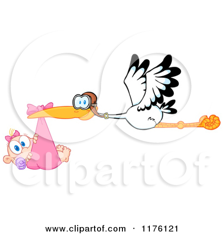 photo regarding Baby Girl Clip Art Free Printable identify clipart of stork with kid lady 20 free of charge Cliparts Obtain