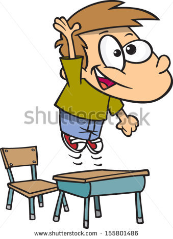 Showing post & media for Cartoon boy student raising hand.