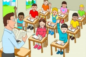 Students In Classroom Clipart.
