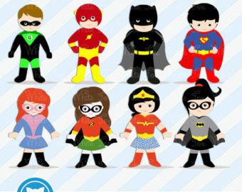 Free Superhero Clip Art & Superhero Clip Art Clip Art Images.