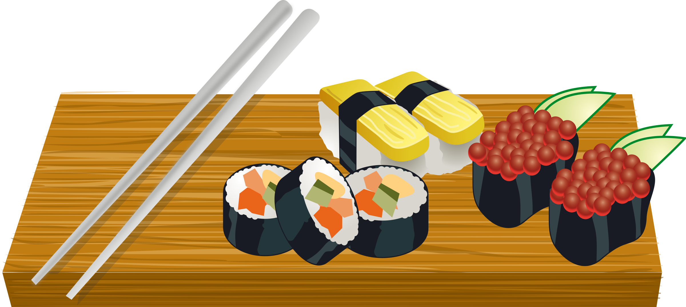Sushi clipart png 1 » Clipart Station.