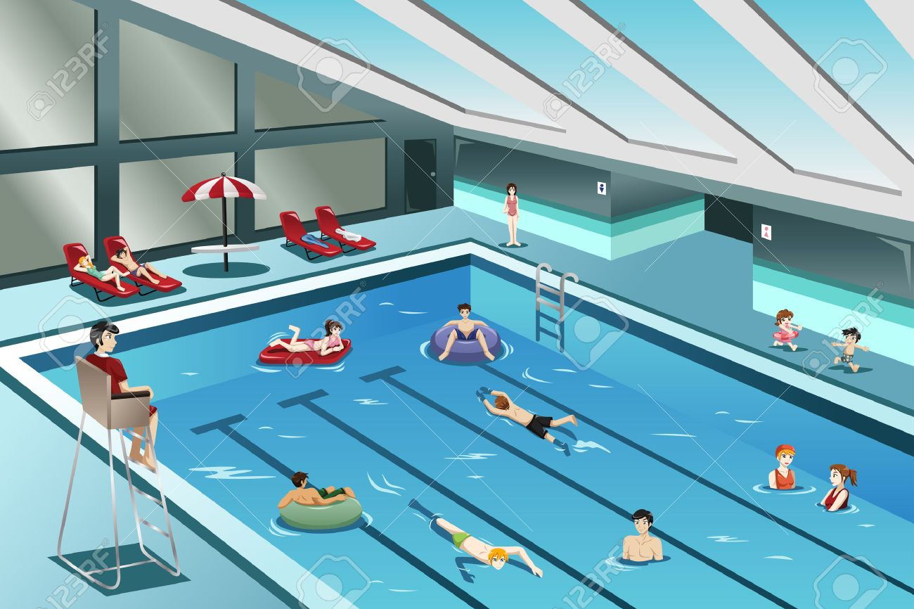 Indoor swimming pool clipart 6 » Clipart Station.