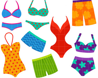 Swimsuit Clipart Group with 53+ items.