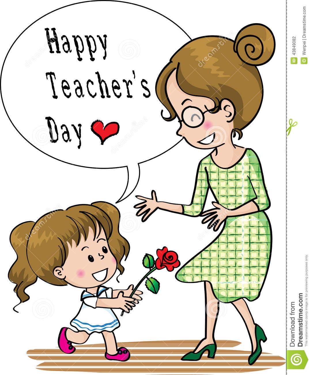 Teachers day clipart 2 » Clipart Station.