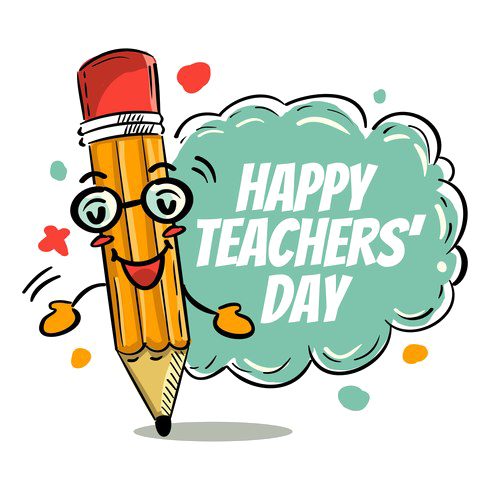 Download Free png Happy Teachers Day PNG Clipart.