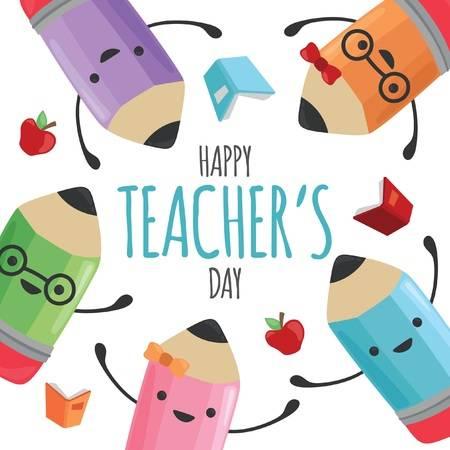 5,174 Teacher Day Stock Vector Illustration And Royalty Free Teacher.