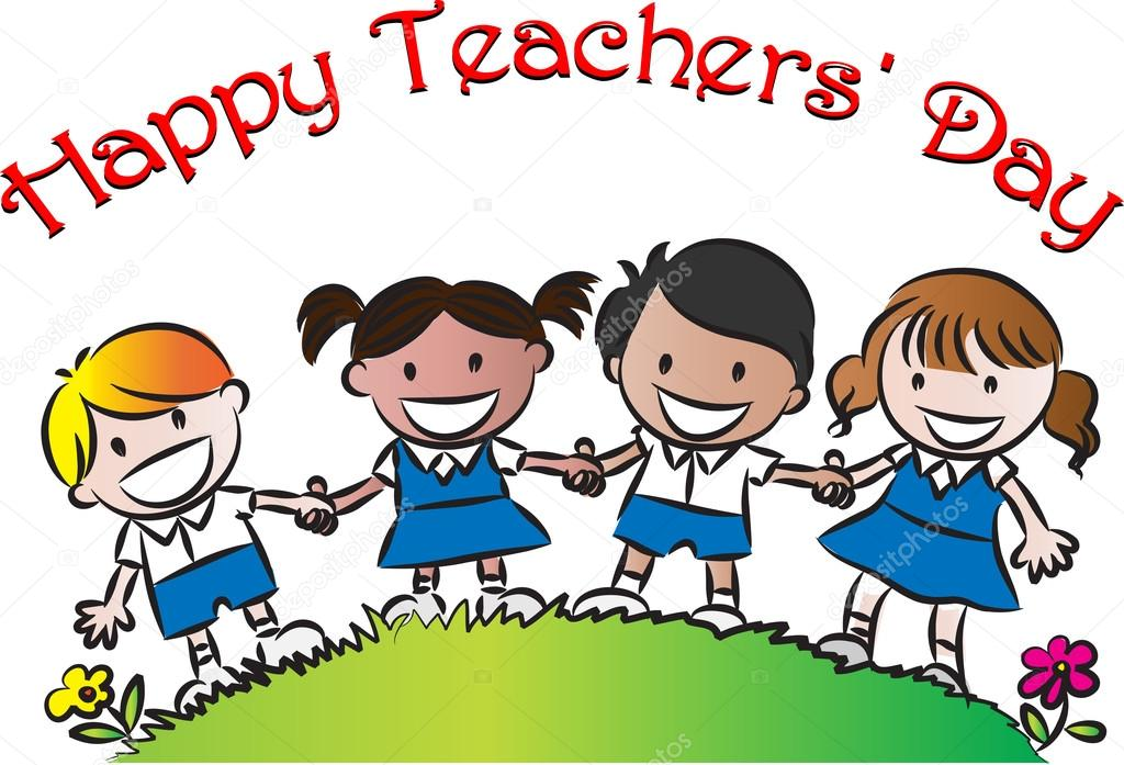 Happy teachers day clipart 1 » Clipart Station.
