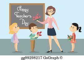 Teachers Day Clip Art.