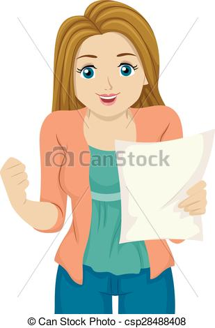 Teenage girl clipart 12 » Clipart Station.