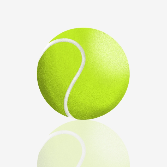 Tennis Ball Clipart Png, Tennis, Tennis Ball, 3d PNG Transparent.
