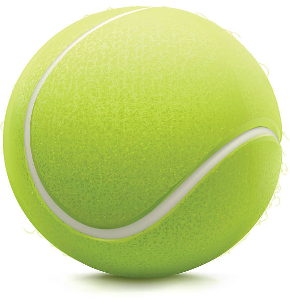 Best Tennis Ball Illustrations, Royalty.
