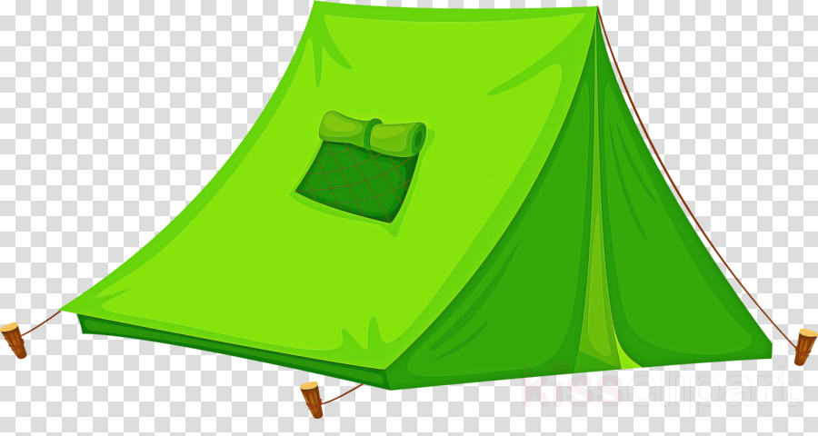 green tent leaf clipart.
