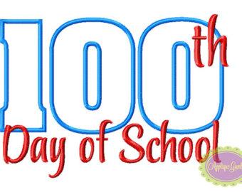 100 days of school.
