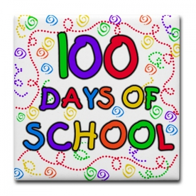 100th Day Of School Free Clipart.